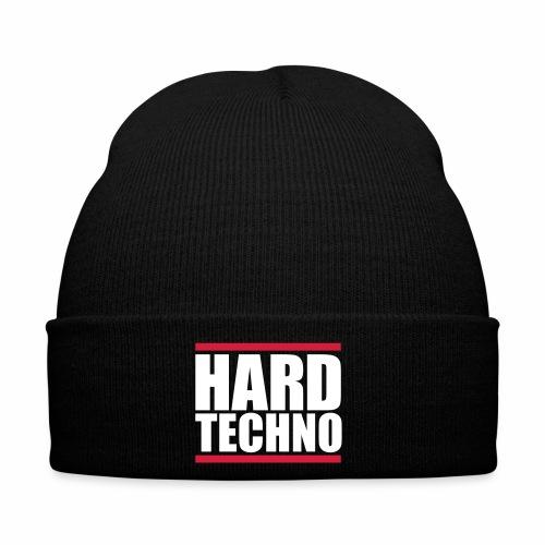 Hard Techno - Wollmütze - Wintermütze