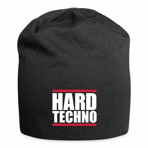 Hard Techno - Beanie - Jersey-Beanie