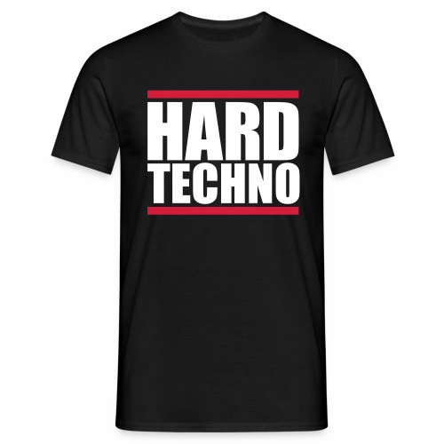 Hard Techno - T-Shirt - Männer T-Shirt