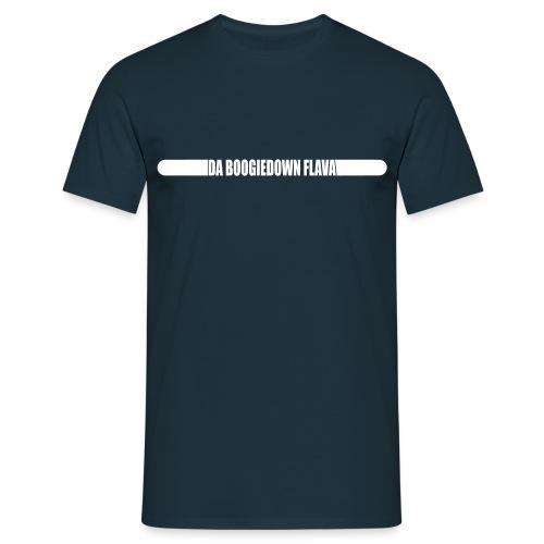 shirt zahl hinten - Männer T-Shirt