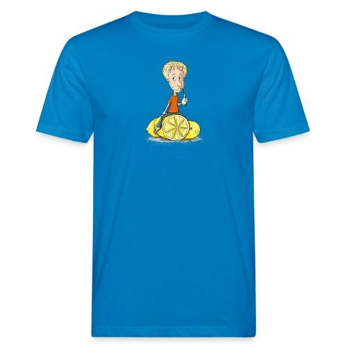 Gibt Dir das Leben Zitronen... - Männer Bio-T-Shirt - Männer Bio-T-Shirt