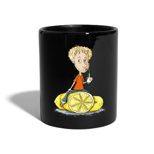 Gibt Dir das Leben Zitronen... - Tasse farbig - Tasse einfarbig