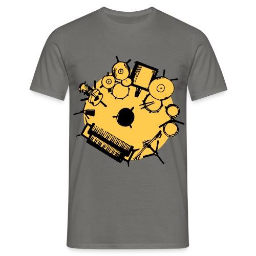 Lazy Susan Musician - Men's T-Shirt