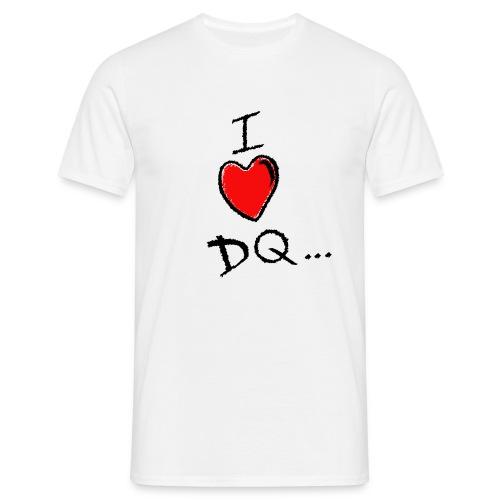 I Heart DQ Comfort Tee - Men's T-Shirt