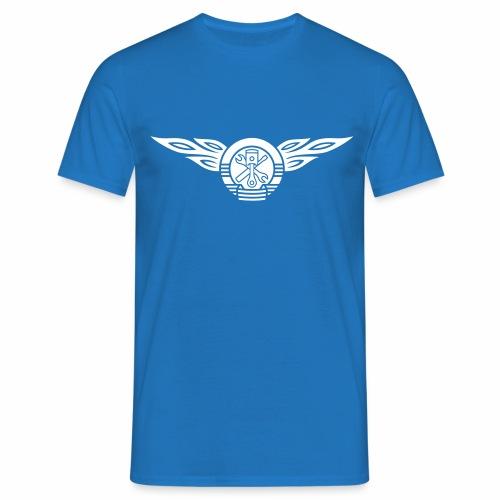 KFZ Flammen Wappen 1c - Men's T-Shirt