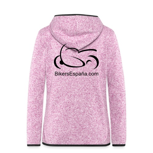 Ladies Hooded Fleece - Printed on Back only - Women's Hooded Fleece Jacket