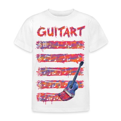GuitArt - Kids' T-Shirt
