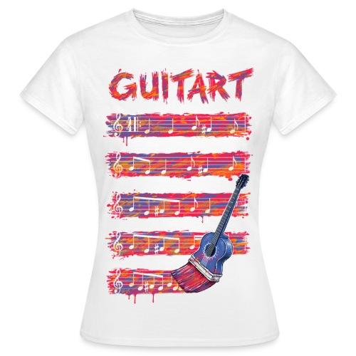 GuitArt - Women's T-Shirt