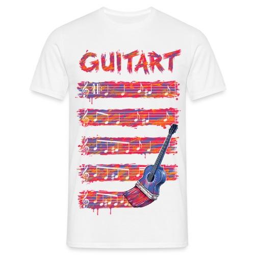 GuitArt - Men's T-Shirt