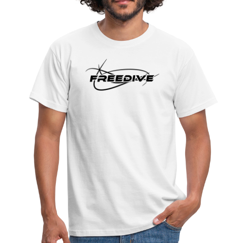 Freedive Herren - Männer T-Shirt