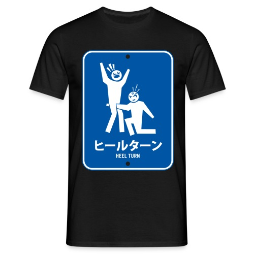 Japanese Heel Turn (Men) - Men's T-Shirt