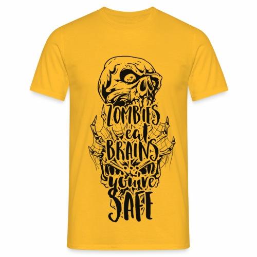 Zombies eat Brains - Männer T-Shirt