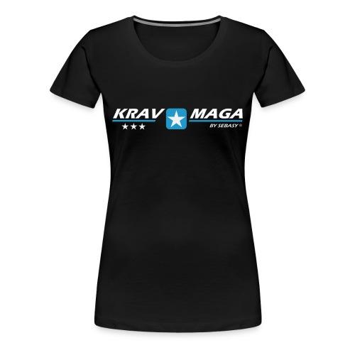 Sebasy Damen Premiumshirt Basis 3 - Frauen Premium T-Shirt