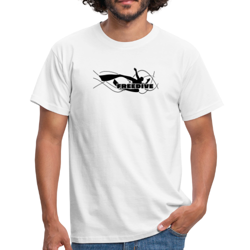 Männer T-Shirt - tauchen,skindiving,freitaucher,freitauchen,freediving t-shirt,freediver shirt,freediver,freedive,apnea,Freediving,Apnoetauchen,Apnoe