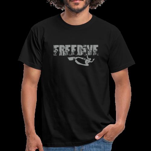 Freedive Distressed Style Herren - Männer T-Shirt