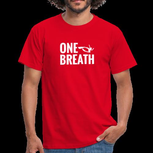 One Breath Freediver Herren - Männer T-Shirt