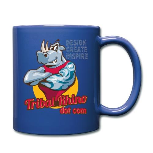 Tribal Rhino mug for the lefty in various colours - Full Colour Mug