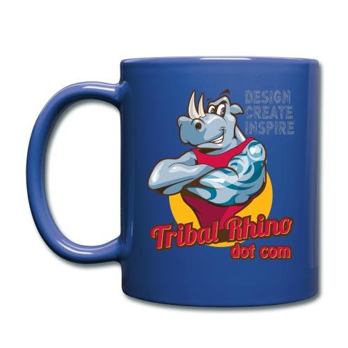 Tribal Rhino mug for the righty in various colours - Full Colour Mug
