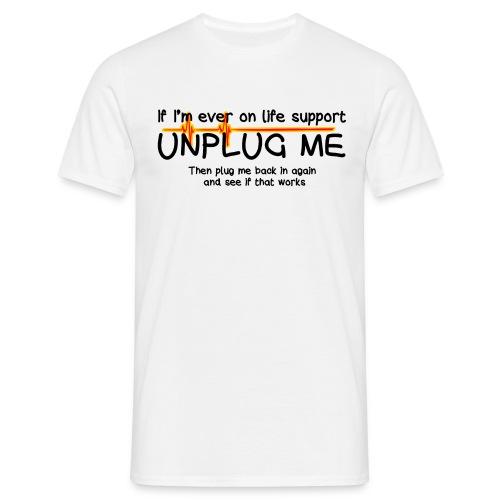 Life support - Men's T-Shirt