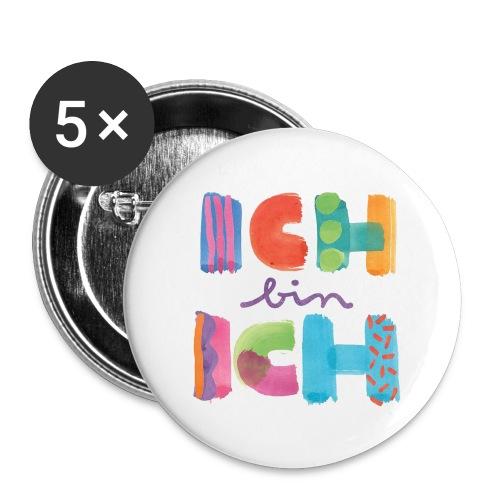 ICH BIN ICH I ANSTECKBUTTON - Buttons groß 56 mm