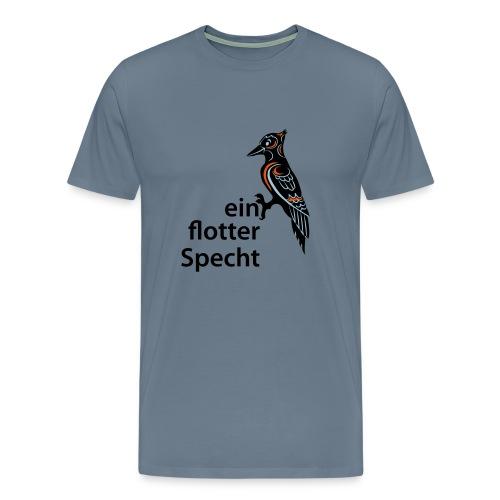 Flotter Specht - Männer Premium T-Shirt