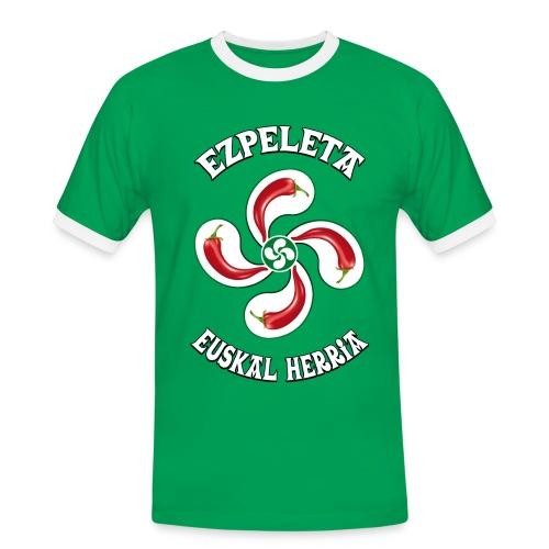 Ezpeleta - Espelette - T-shirt contrasté Homme