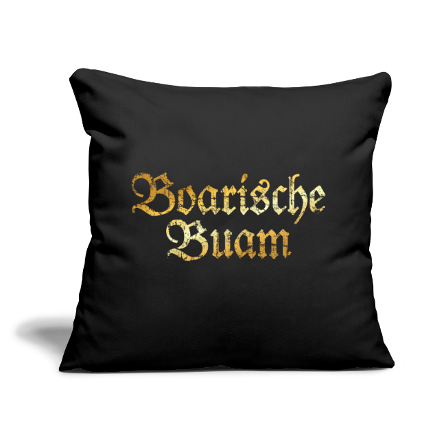 Boarische Buam Kissenbezug (Vintage Gold)