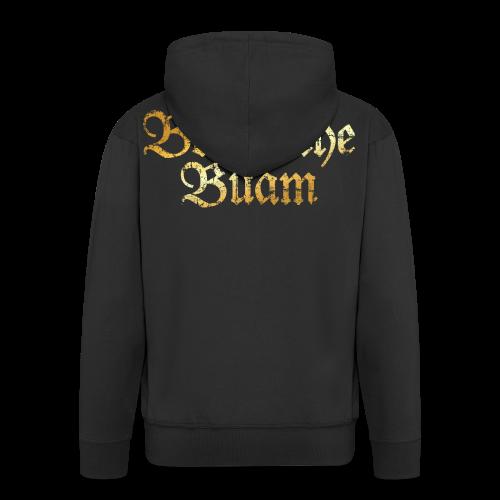 Boarische Buam Kapuzenjacke (Vintage Gold) - Männer Premium Kapuzenjacke