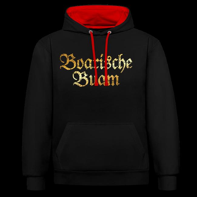 Boarische Buam Hoodie (Vintage Gold)