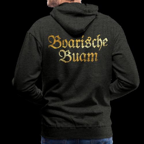 Boarische Buam Hoodie (Vintage Gold) - Männer Premium Hoodie