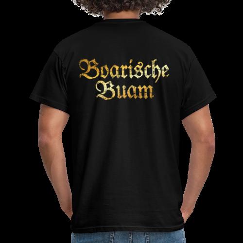 Boarische Buam T-Shirt (Vintage Gold) - Männer T-Shirt