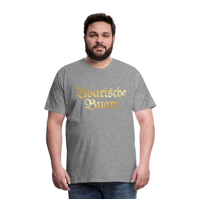 Boarische Buam T-Shirt (Vintage Gold)