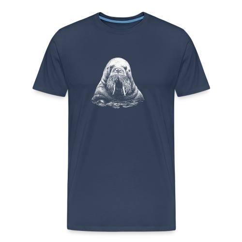 Wassermann in Weiß - Männer Premium T-Shirt