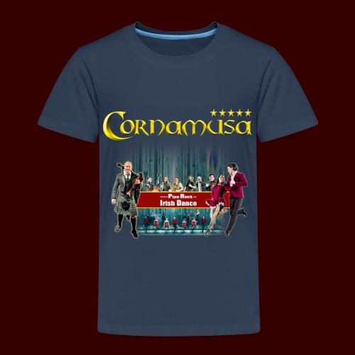Kinder T-Shirt Cornamusa 2018 - Kinder Premium T-Shirt
