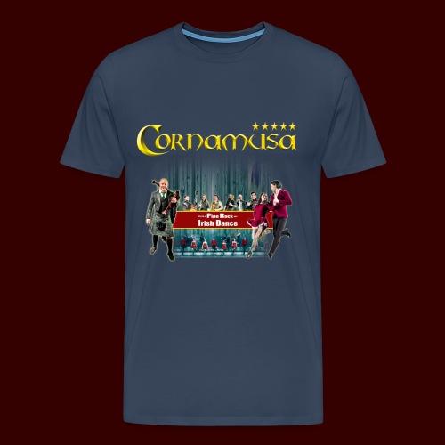 Männer T-Shirt Cornamusa 2018 - Männer Premium T-Shirt