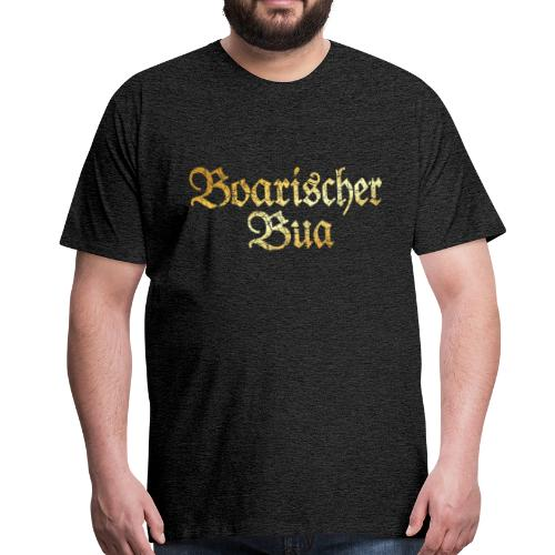 Boarischer Bua T-Shirt (Vintage Gold) - Männer Premium T-Shirt