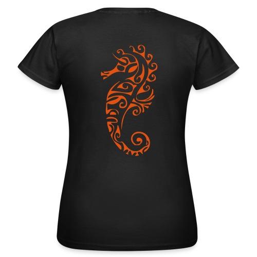 T-shirt Plongeur.com - Hippocampe - T-shirt Femme