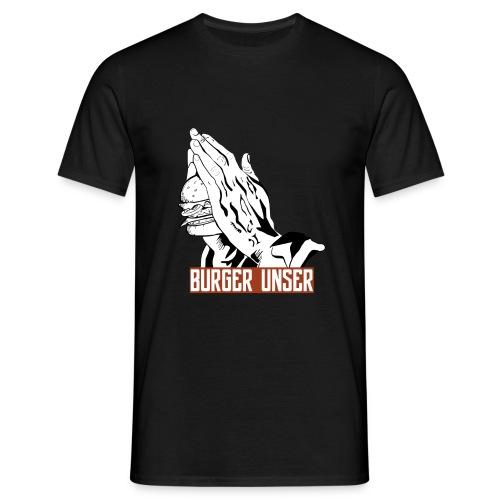 Burger Unser - Das T-Shirt für Mitglieder - Männer T-Shirt