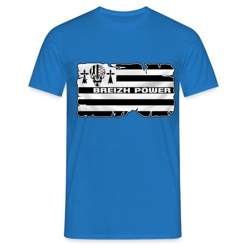 Breizh Skull Power - T-shirt Homme