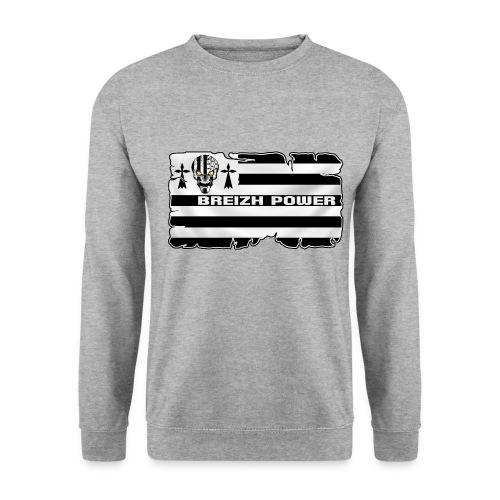 Breizh Skull Power - Sweat-shirt Homme