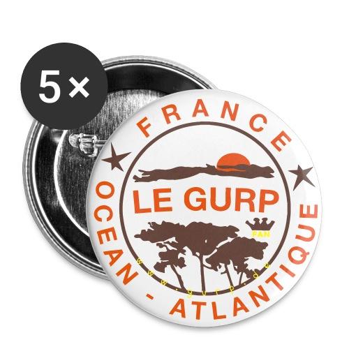 2018er Gurpie Plack - Buttons klein 25 mm