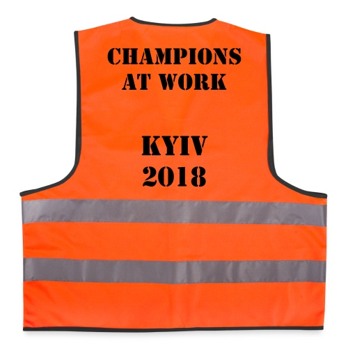 Champions at Work Fluorescent Vest - Reflective Vest