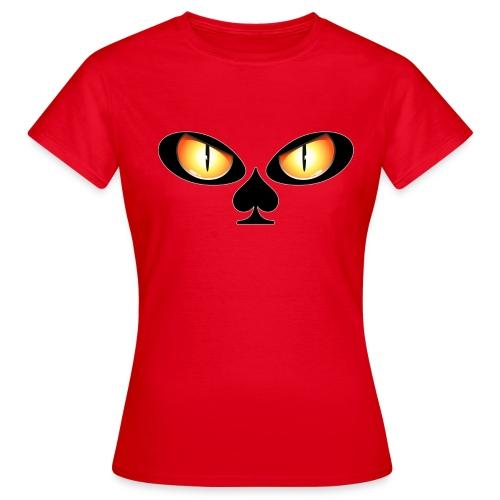 Eyes poker - T-shirt Femme