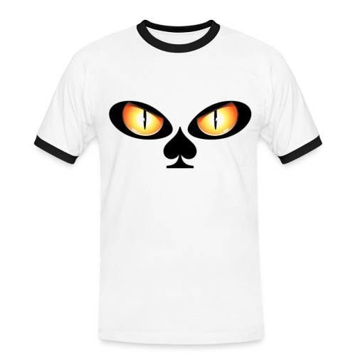 Eyes poker - T-shirt contrasté Homme