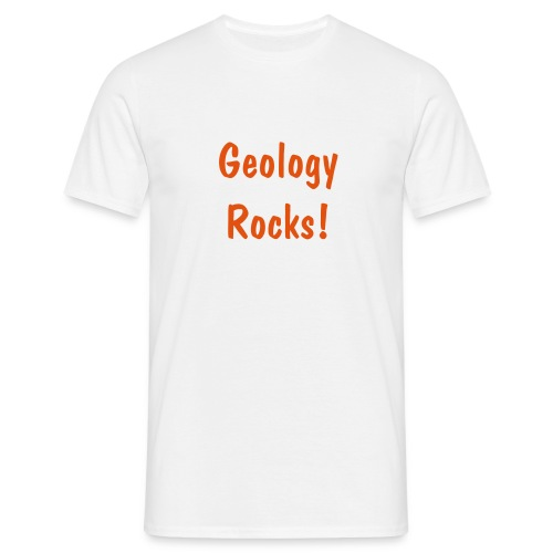 White Geology T - Men's T-Shirt