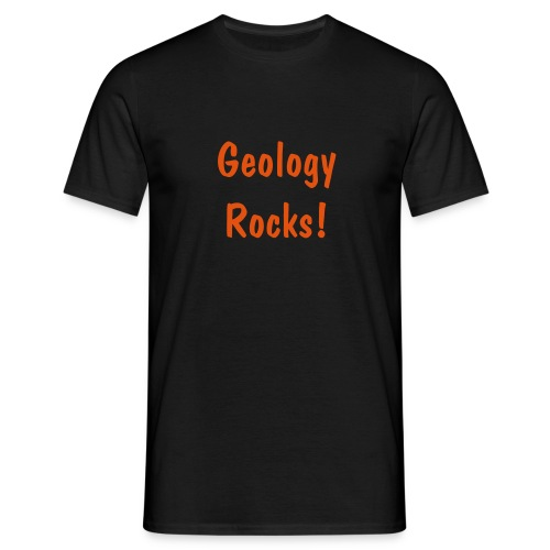 Black Geology T - Men's T-Shirt