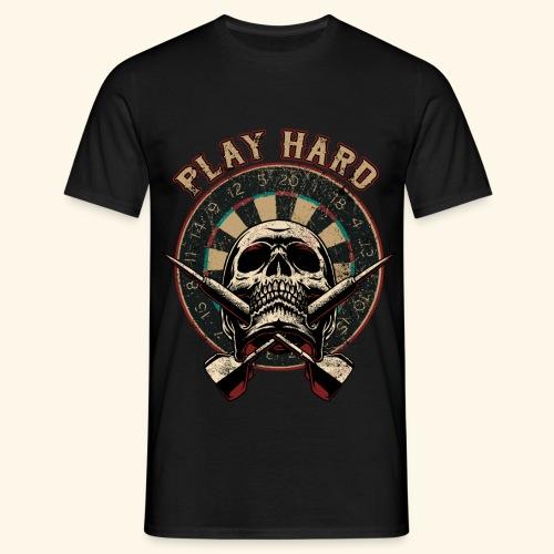Play Hard - Männer T-Shirt