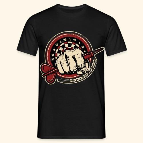 Dart Fist - Männer T-Shirt