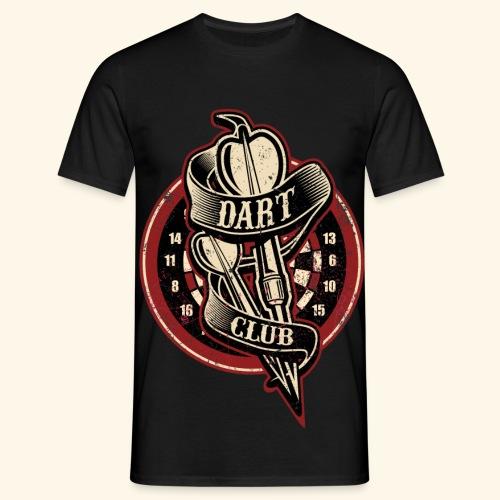 Dart Club t-shirt - Männer T-Shirt