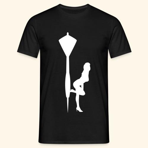 Dart Girl - Männer T-Shirt